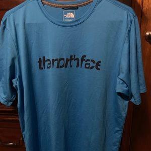 The north face men dri fit T-shirt
